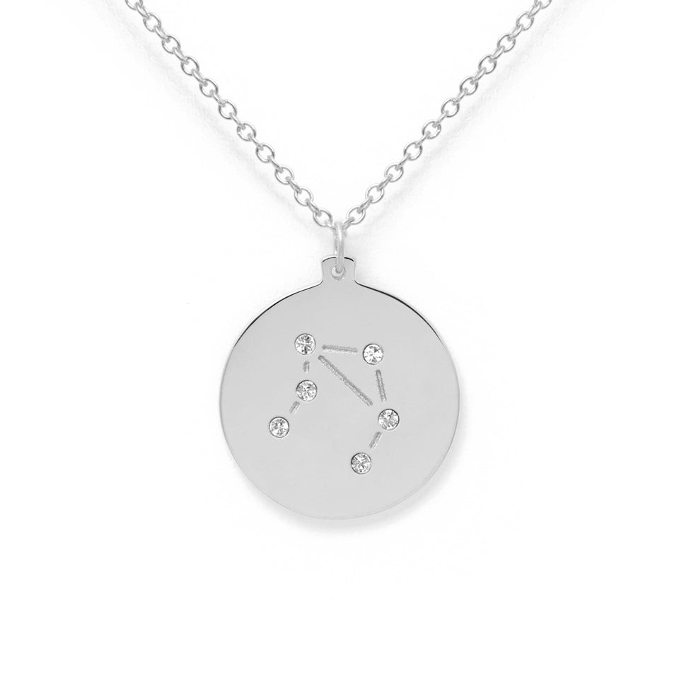 Constellation LIBRA Necklace Glossy