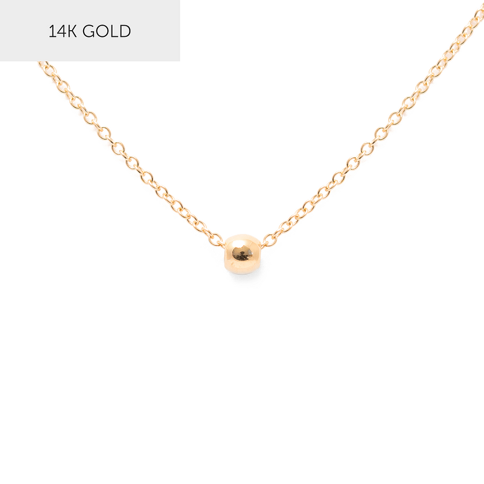 Her Stories And Songs Necklace - Solid Gold Edition