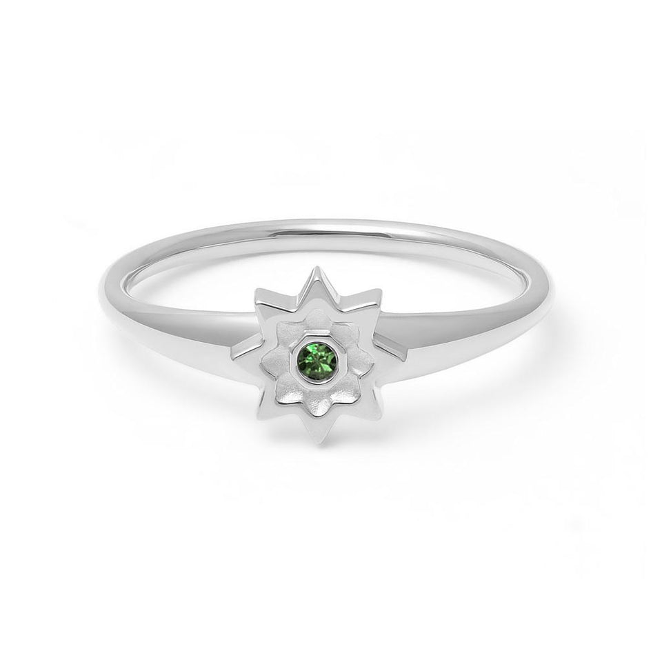 Birthstone MAY Ring