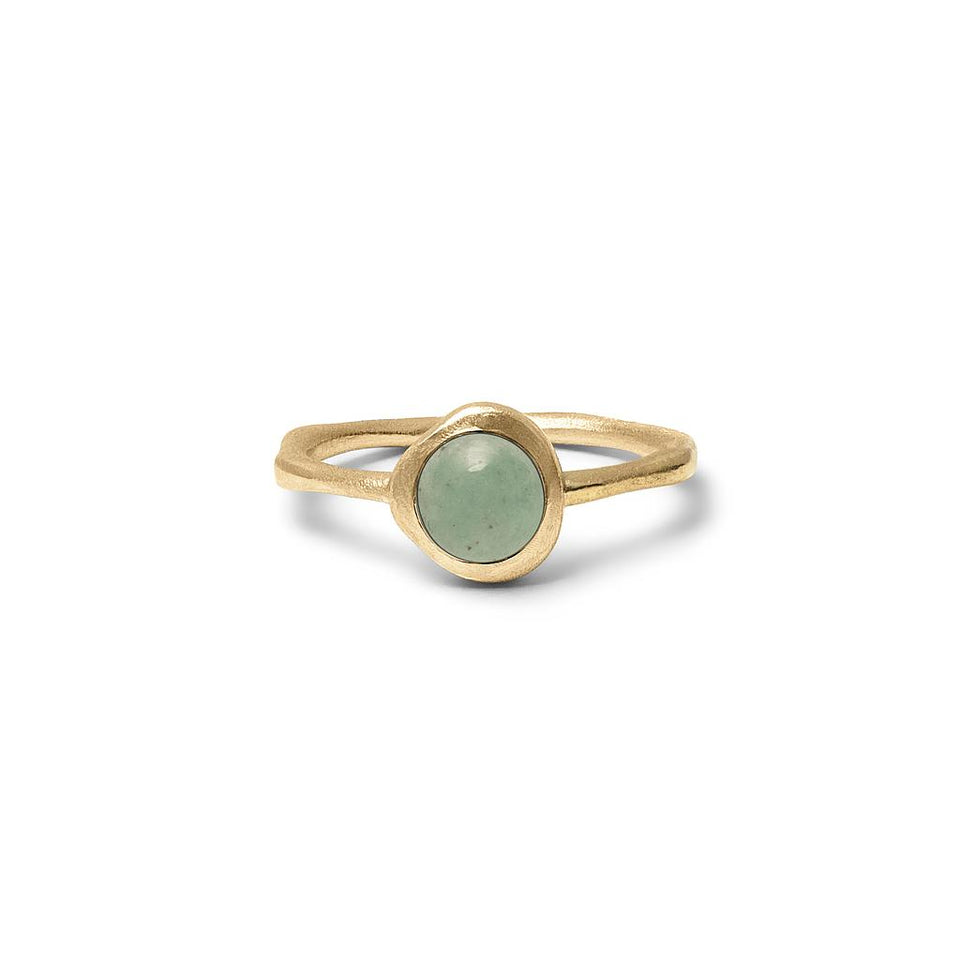 Zodiac Birthstone Ring (Taurus) Solid Gold 14 ct