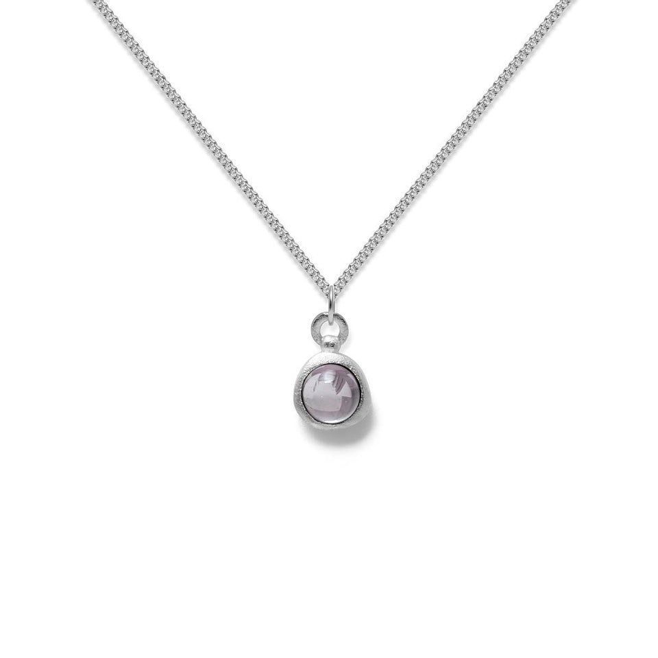 Zodiac Birthstone Necklace (Pisces)