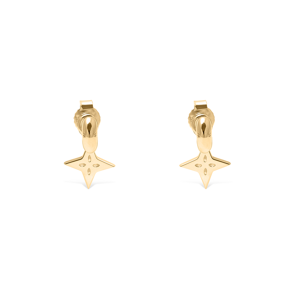 Shooting Star Pendant Set (Pair) + Tide Studs