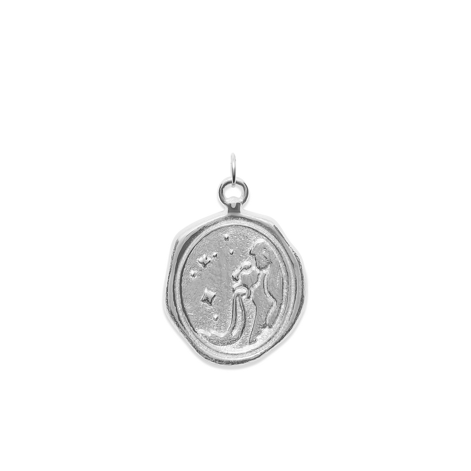 Zodiac Seal Pendant 925 Silver DON'T USE