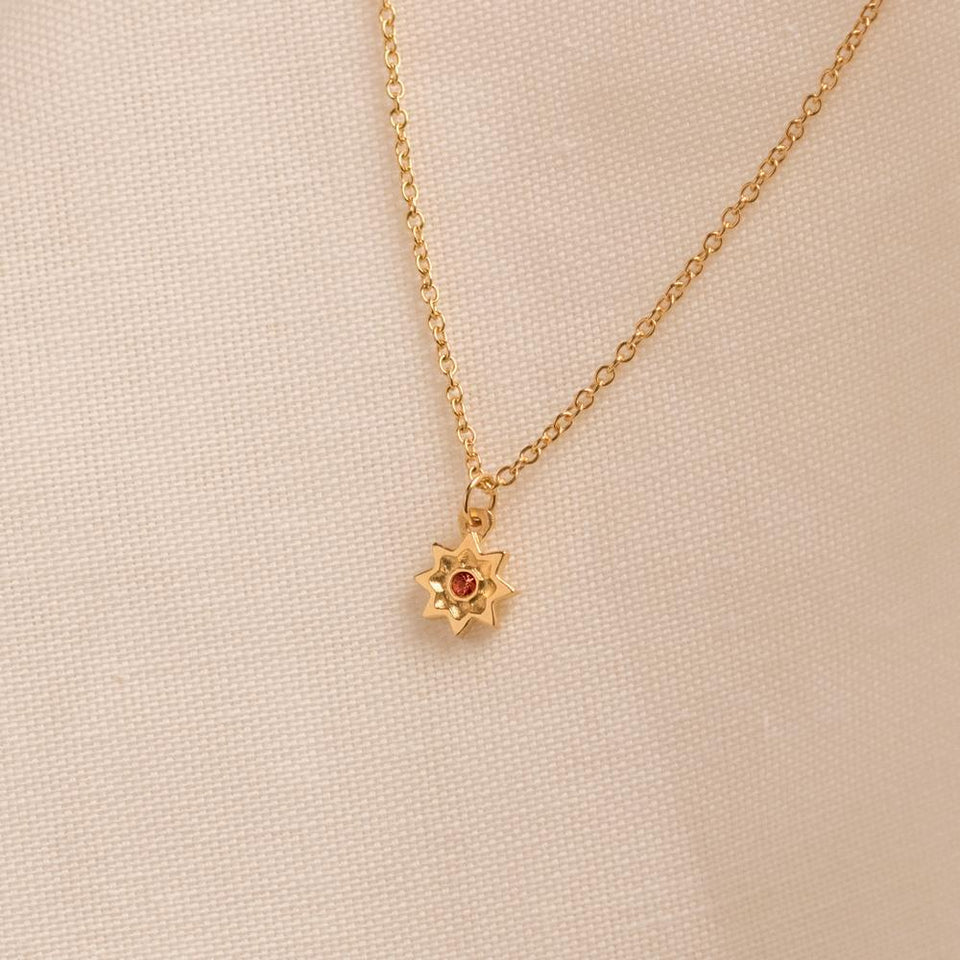 Birthstone AUG Necklace