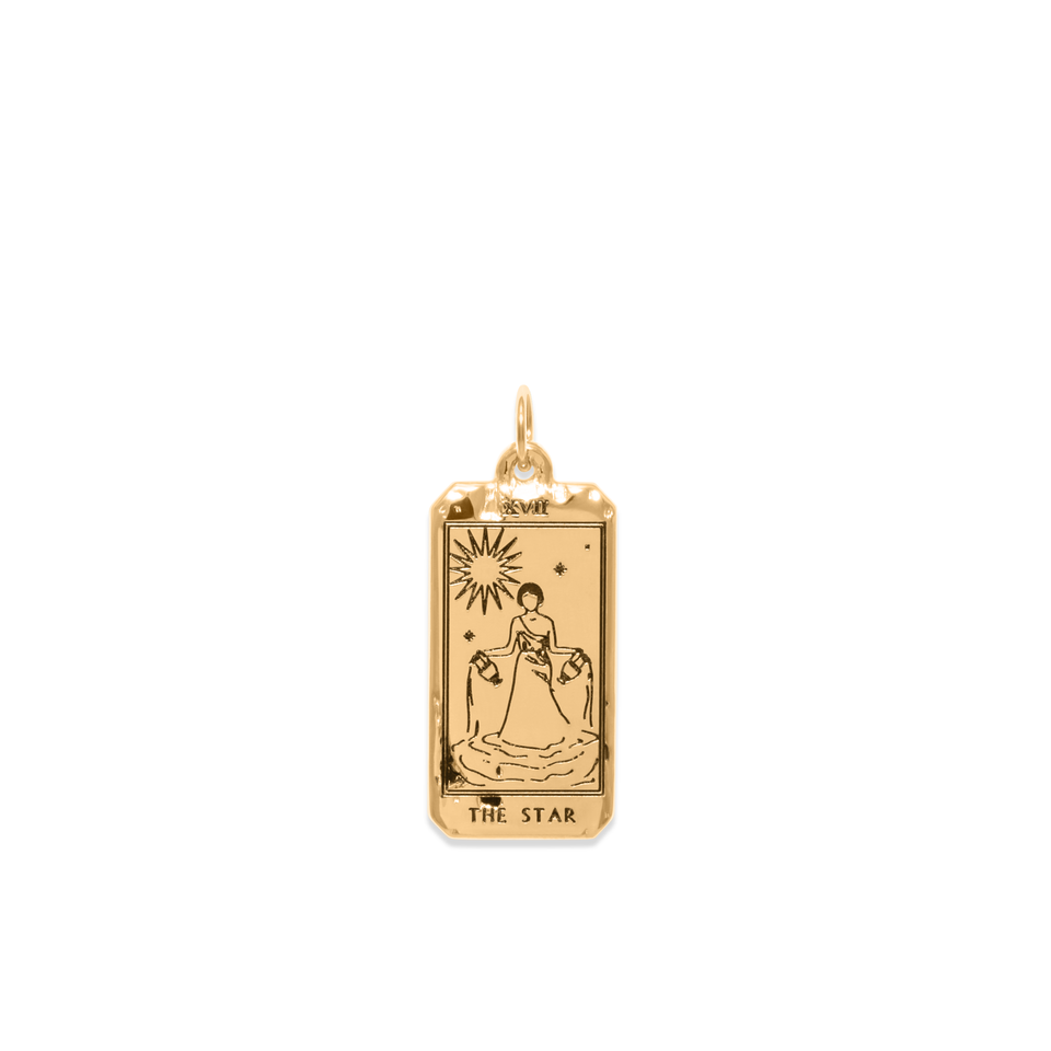 The Star Tarot Card Pendant