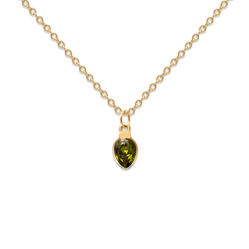 Amparo Necklace Olivine