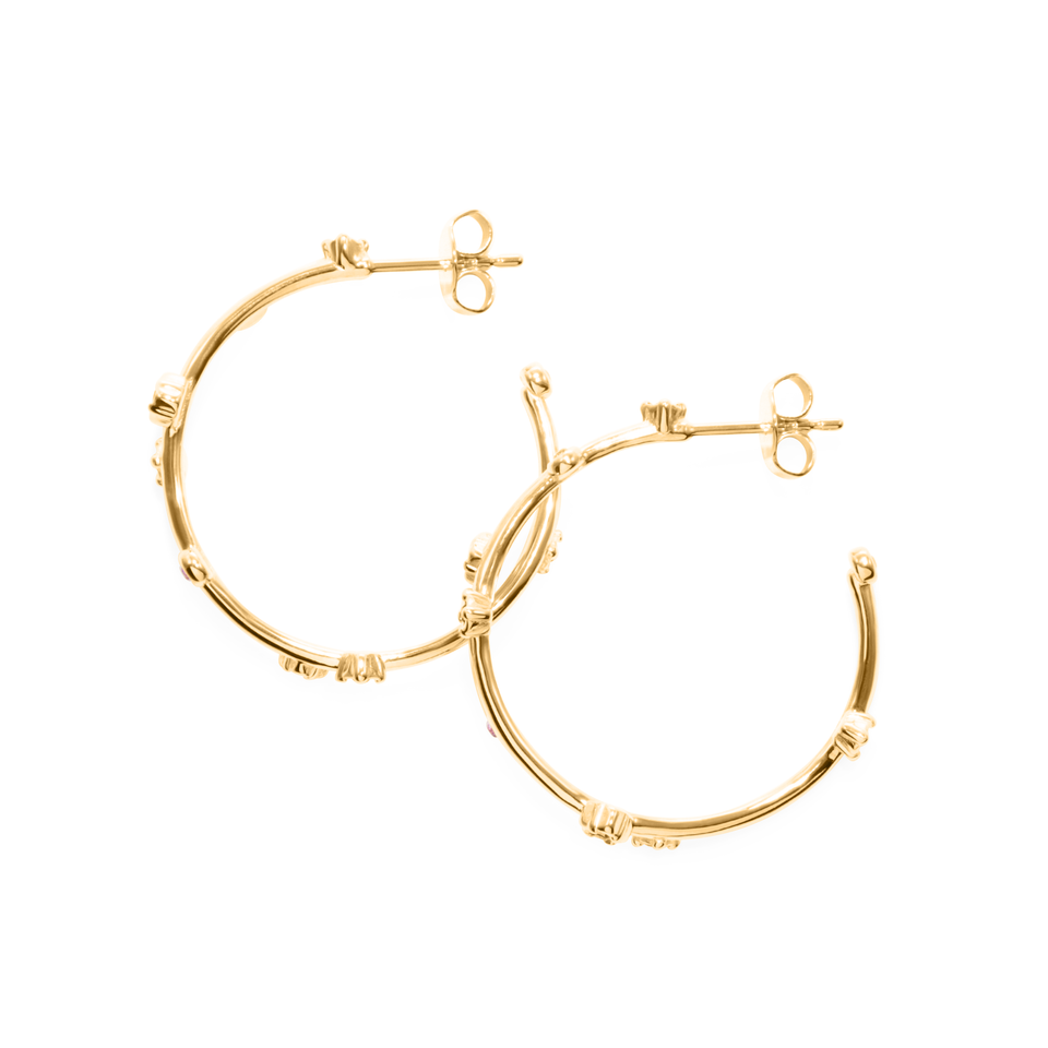Points of Light Ear Hoops
