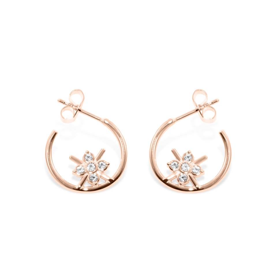 Bloom Ear Hoops