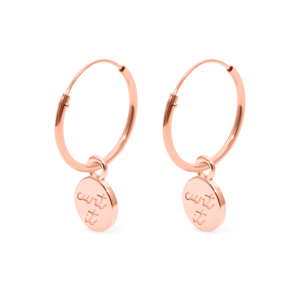 Magic Spell Ear Hoops No.3