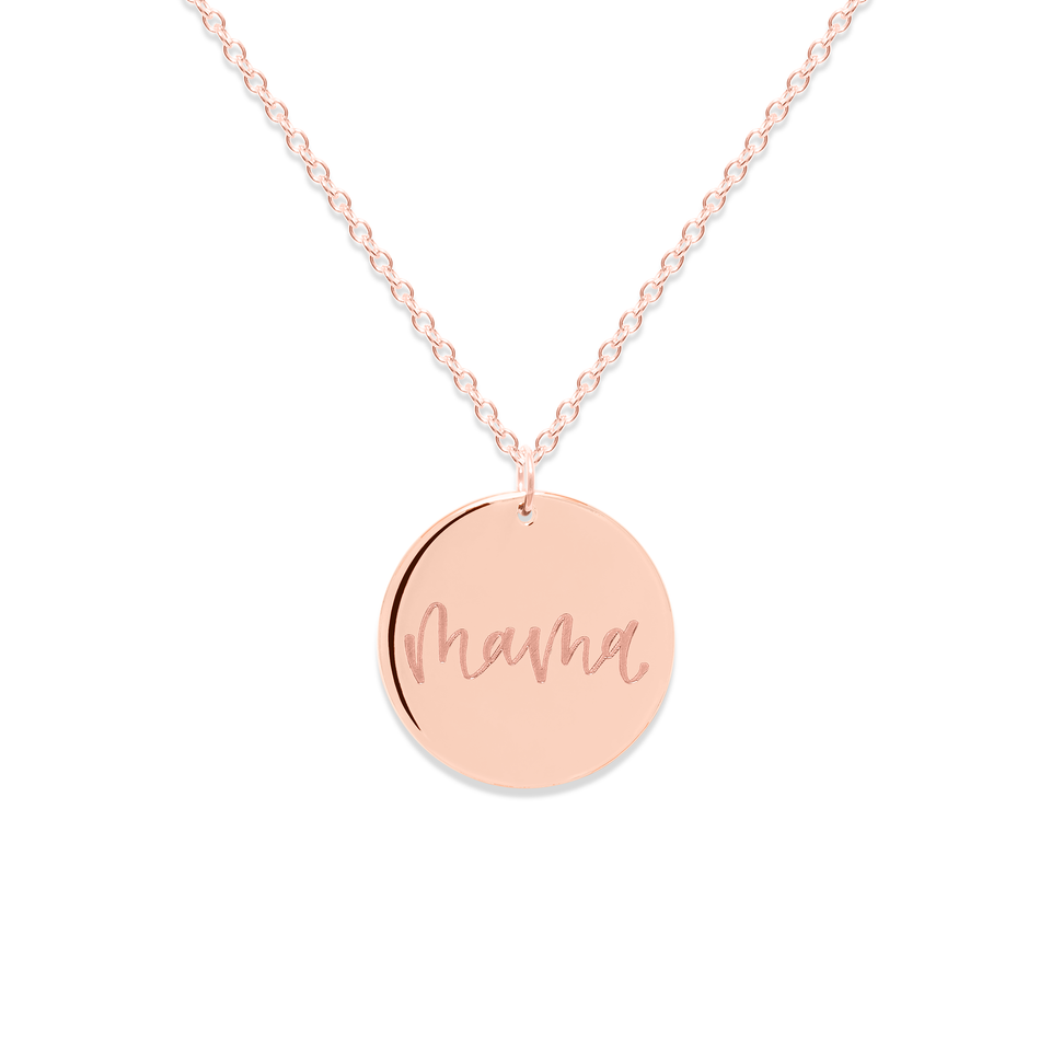 Mama Necklace #mommycollection