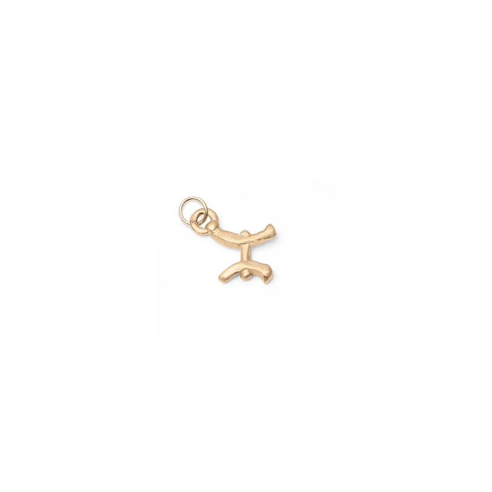Zodiac Charm Pendant (Pisces) Solid Gold 14 ct DON'T USE