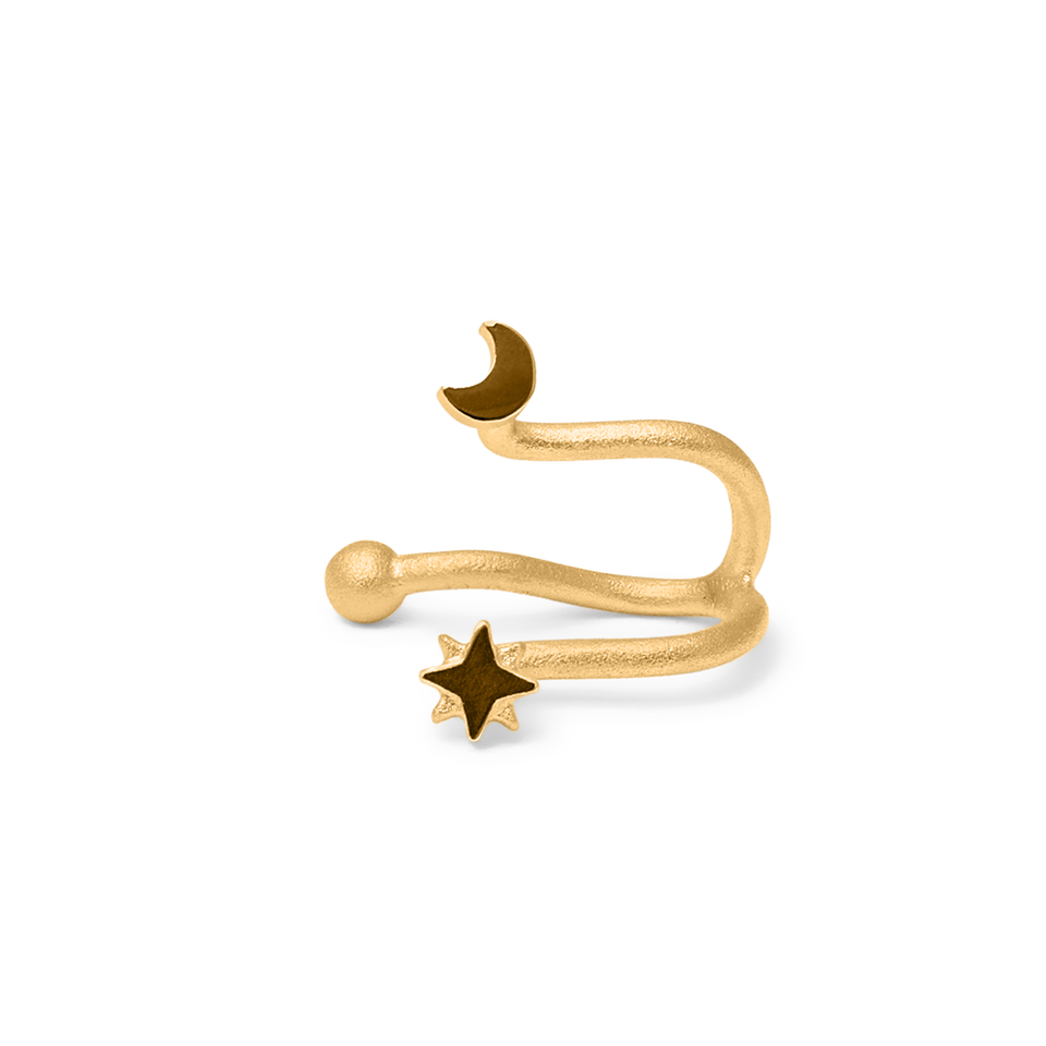 Star Dancer Double Earcuff
