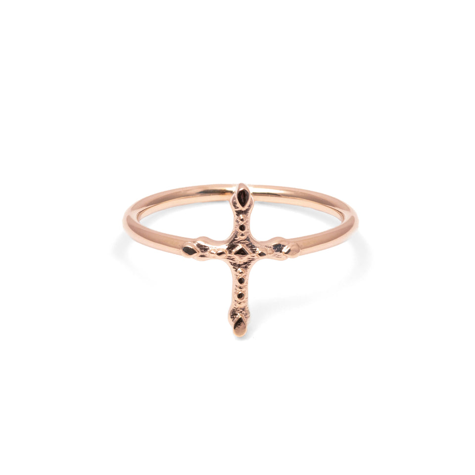 Belief Cross Ring