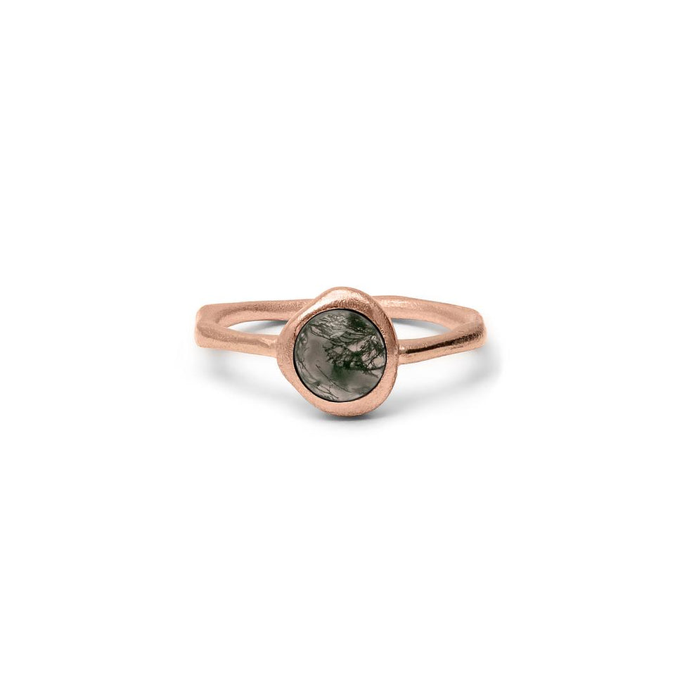 Zodiac Birthstone Ring - Rose Gold Vermeil