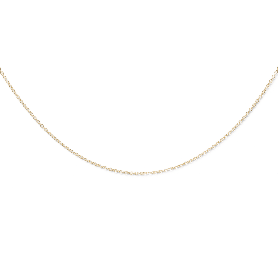 Ankerkette 14k Massivgold Jewelry stilnest 14k Massivgold 45cm
