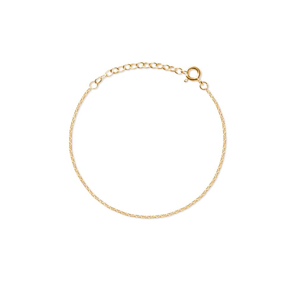 Ankerkette Armband Jewelry stilnest 24ct Gold Vermeil