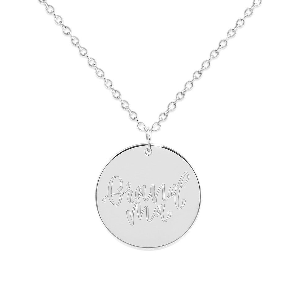 Grandma Necklace #mommycollection