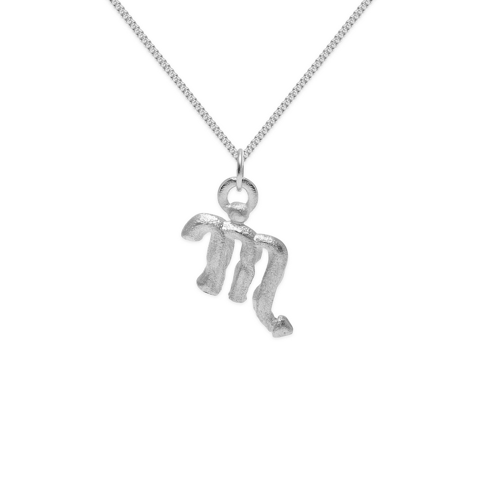 Zodiac Charm Necklace (Scorpio)