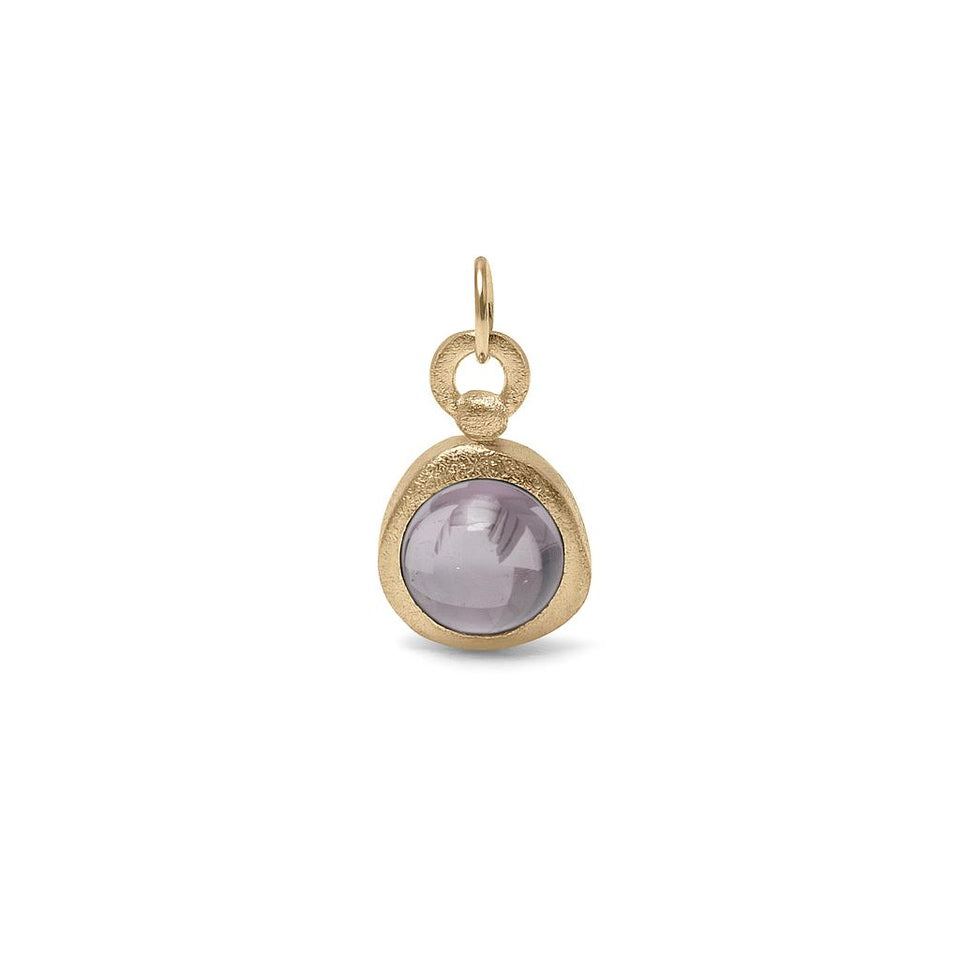 Zodiac Birthstone Pendant (Pisces) Solid Gold 14 ct