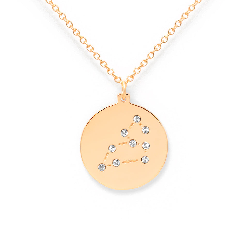 Constellation LEO Necklace Glossy