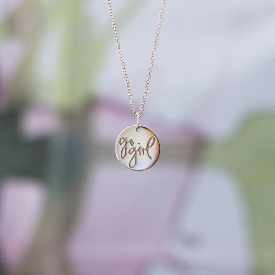 Go Girl Necklace #femboss