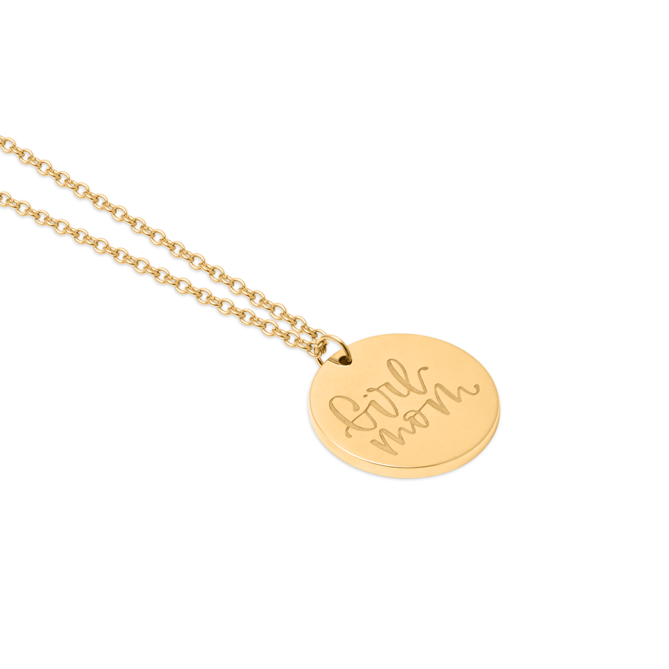 Girl Mom Necklace #mommycollection
