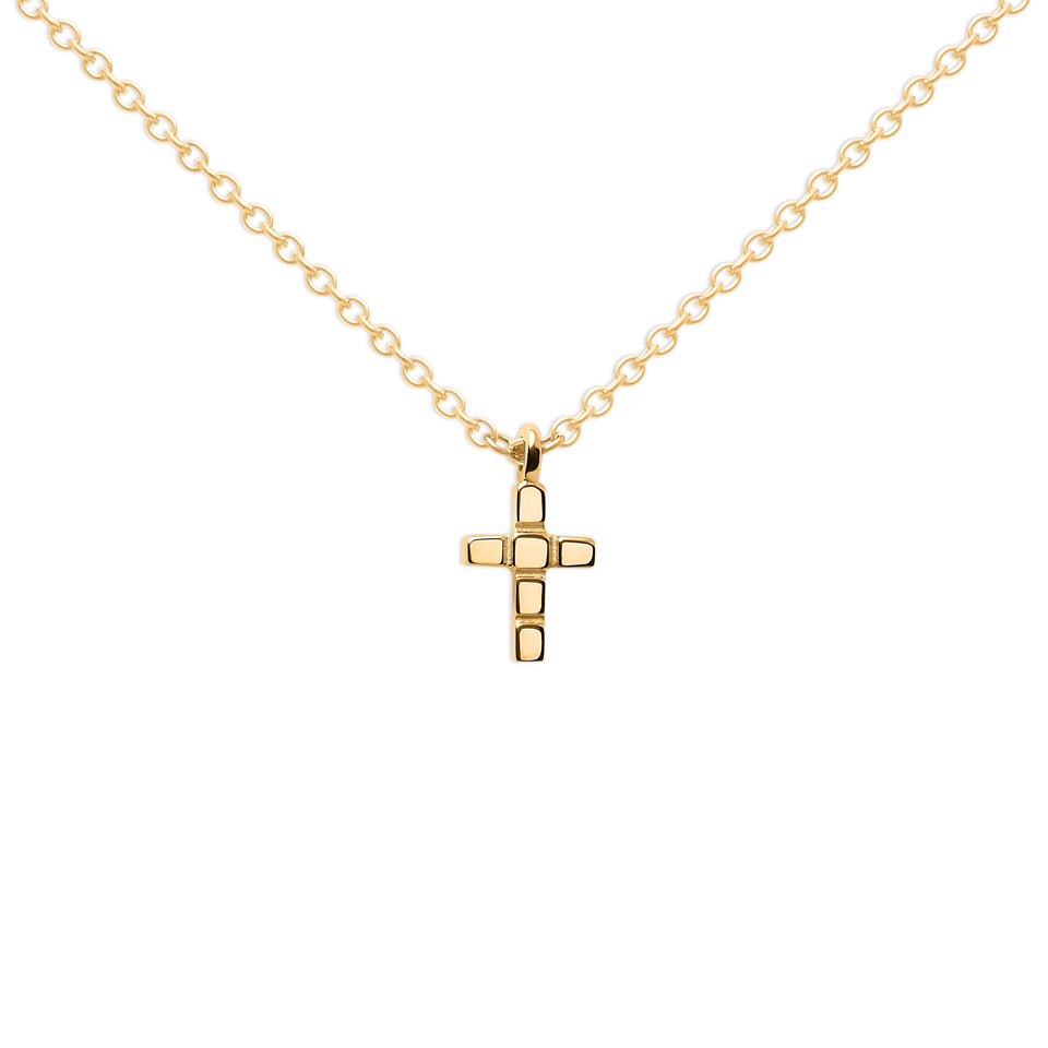 Make a Wish Cross Necklace