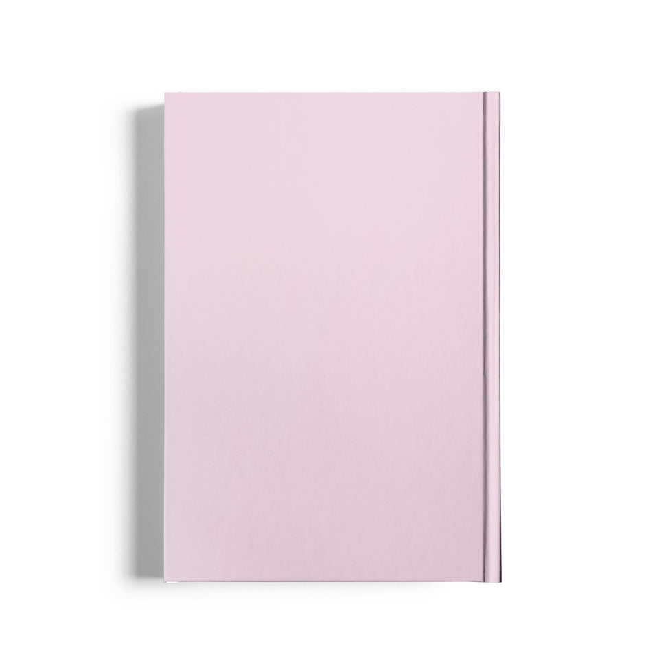 Life Joy Balloon Pink Notebook-Pink