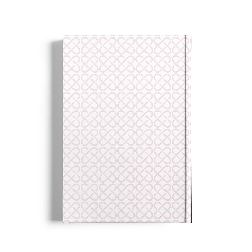Life Joy Knots Notebook-White