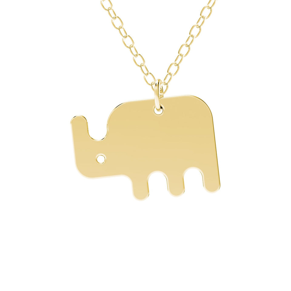 minimals rhino necklace (45cm)