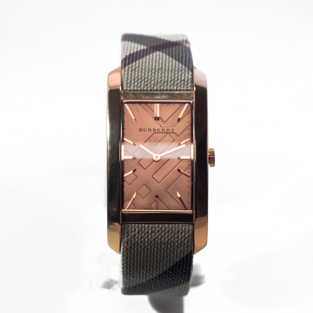 Burberry Pioneer Nova Check Strap Rose Gold