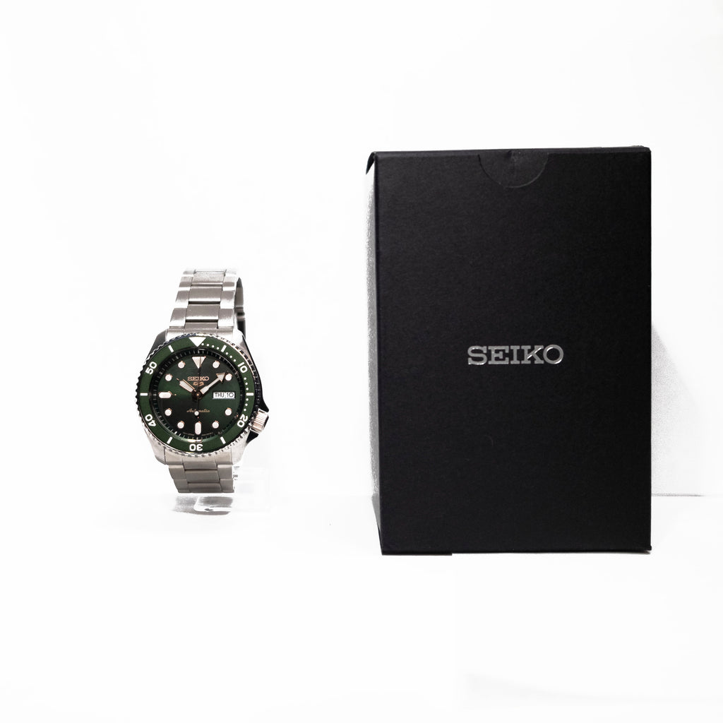 Seiko 5 Sports 24-Jewel Automatic Watch With Green Dial