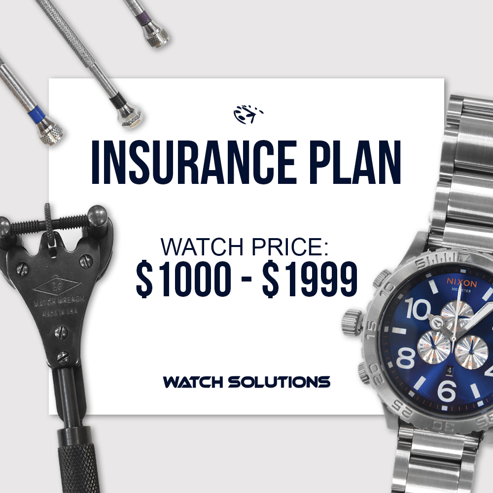 Watch Warranty Add On $1,000 - $1,999