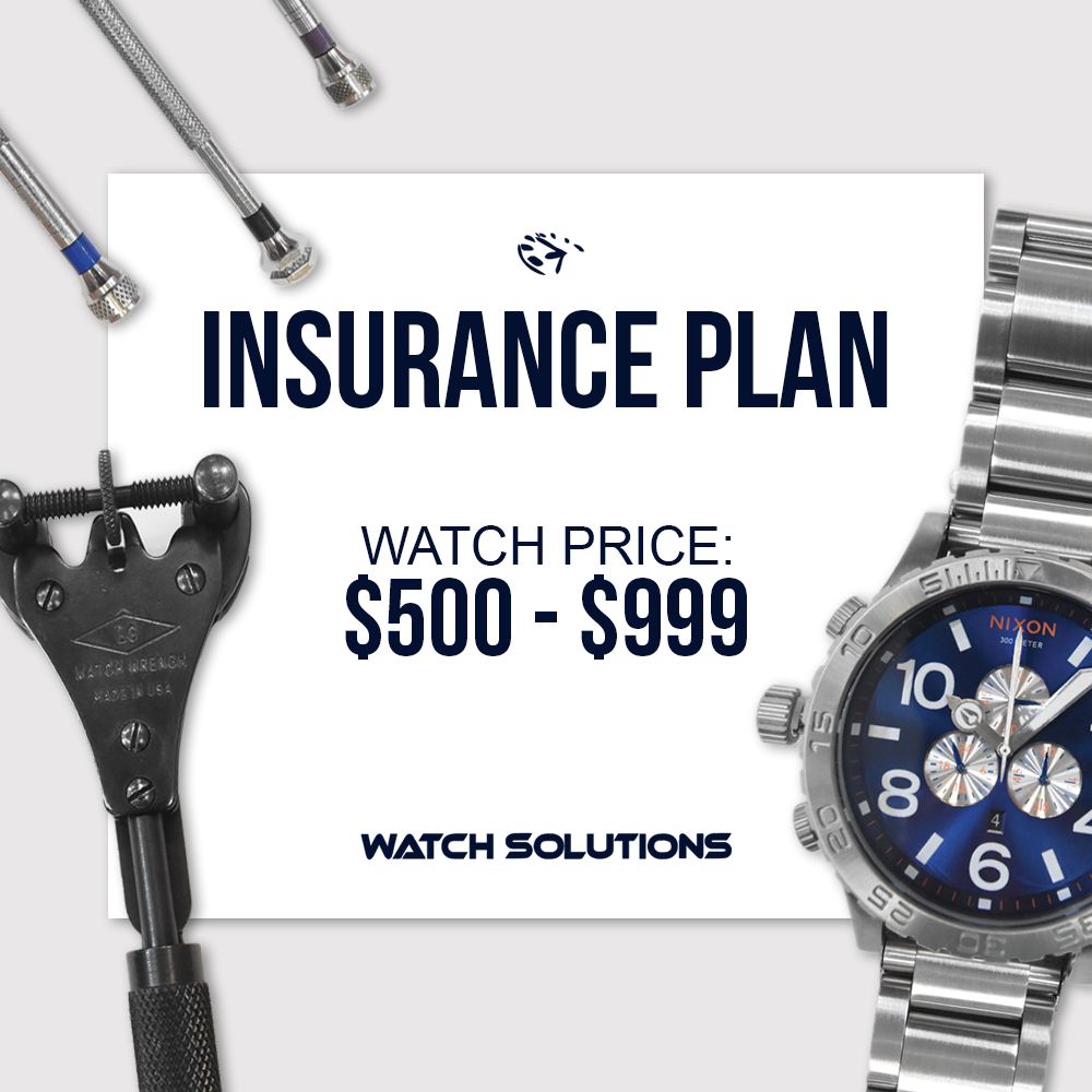 Watch Warranty Add On $500 - $999