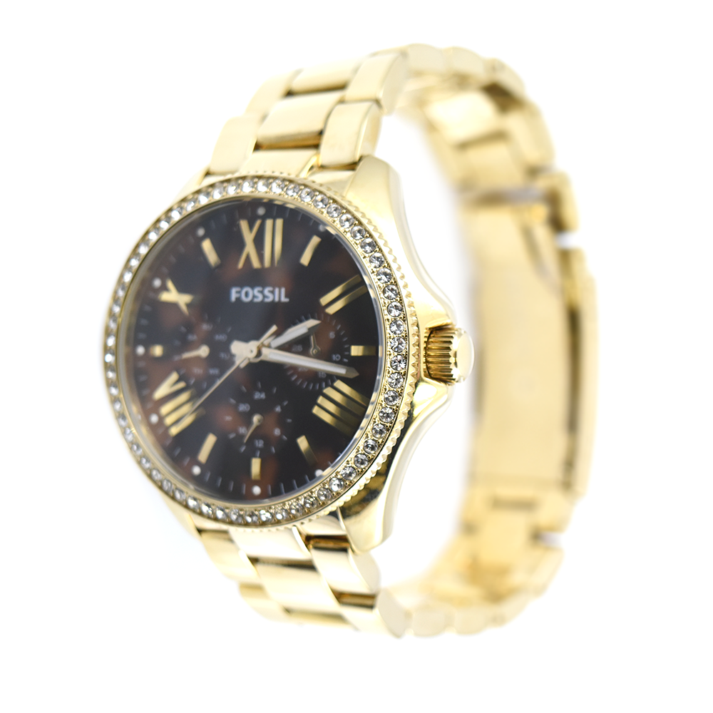 Fossil Cecile AM4498 Gold-Tone Multifunction Watch