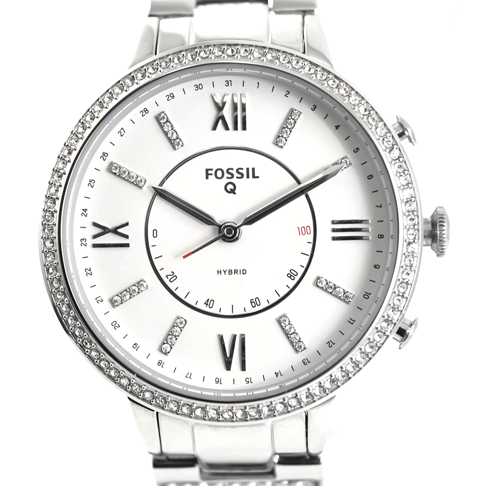 Fossil Hybrid Smartwatch - Q Virginia Stainless Steel FTW5009P