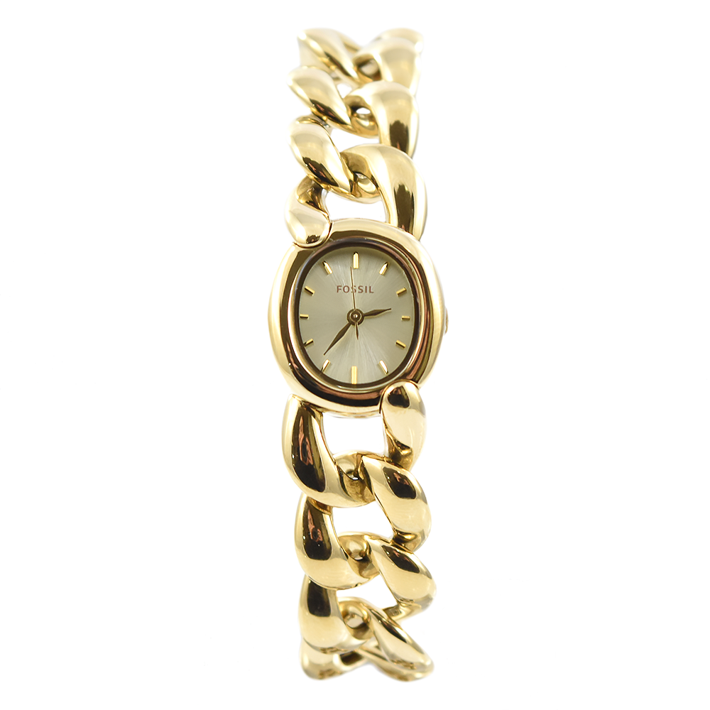 Fossil Curator ES3460 Analog Quartz Gold Watch