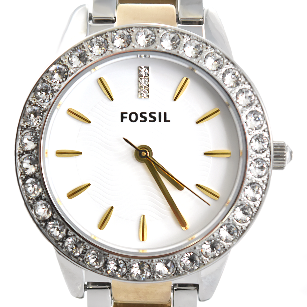 Fossil Jesse ES2409 Two-Tone Crystal Watch