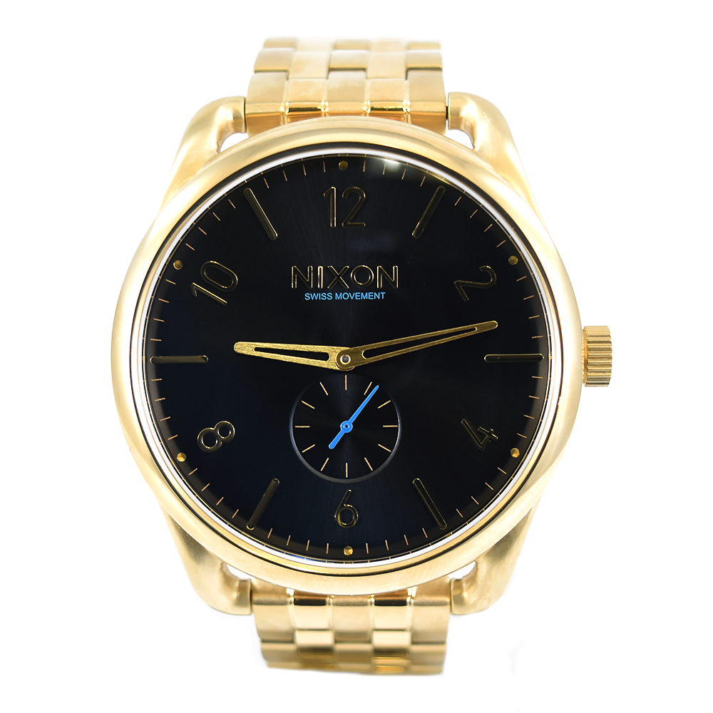 Nixon C45 A951-510 Yellow Gold Watch