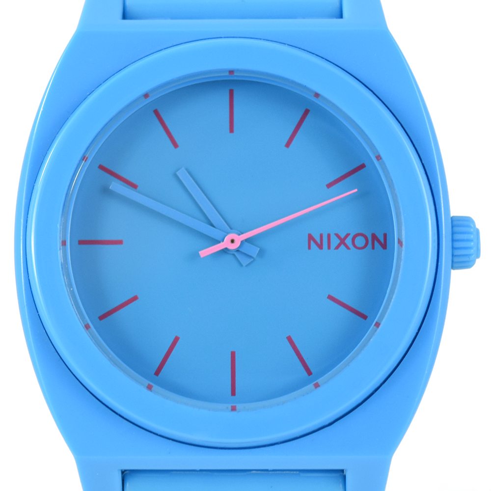 Nixon Time Teller A119 606 Bright Blue Watch
