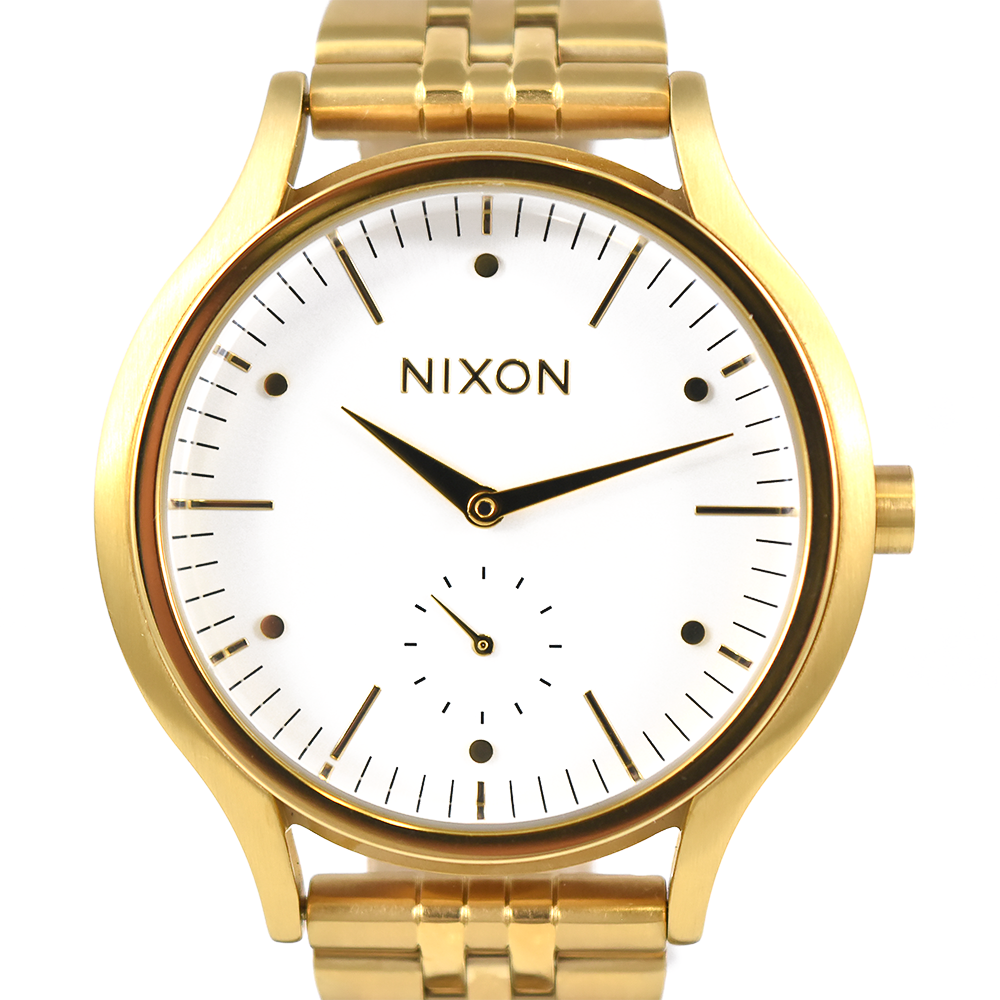 Nixon Sala A994 508 Gold White Watch