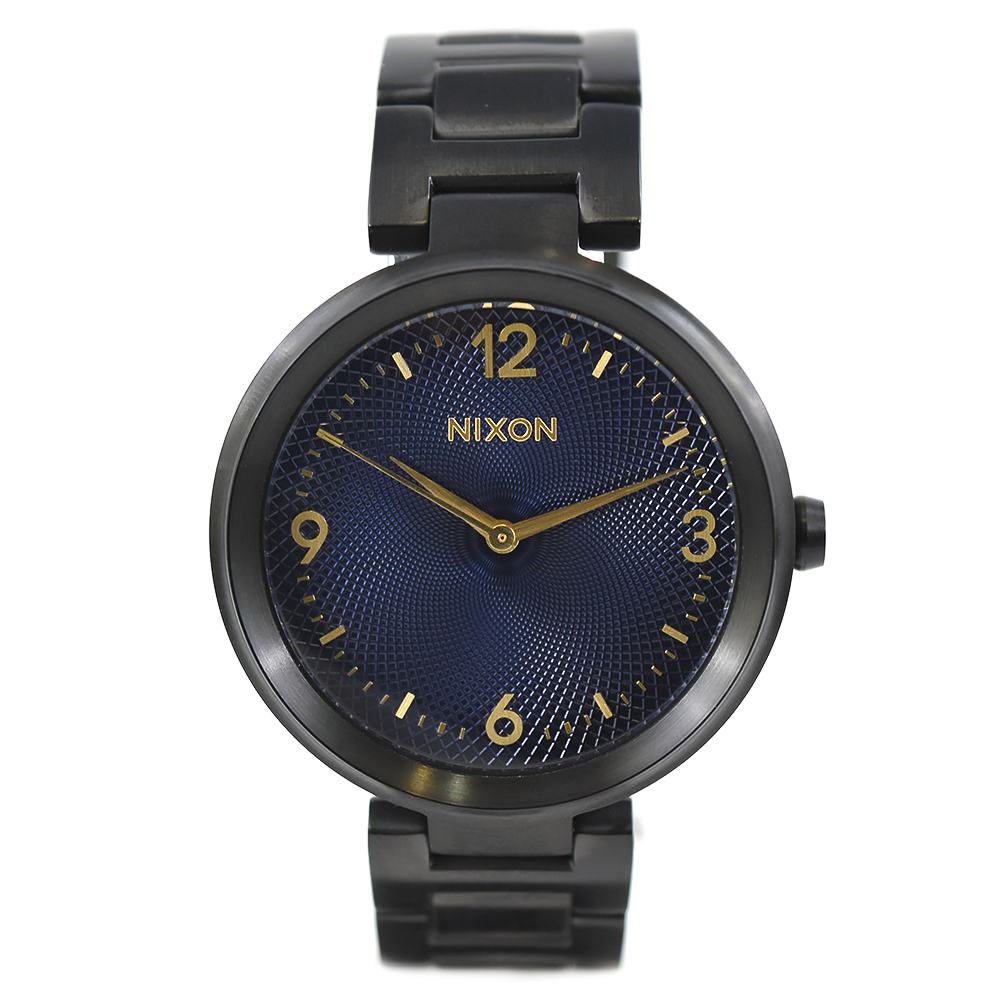 Nixon The Chameleon A991 541 Black and Blue Watch