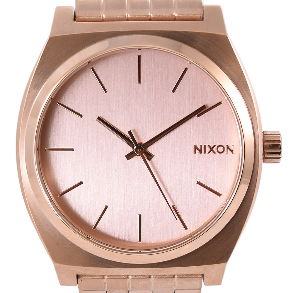Nixon Time Teller A045 897 All Rose Gold Stainless Steel Watch