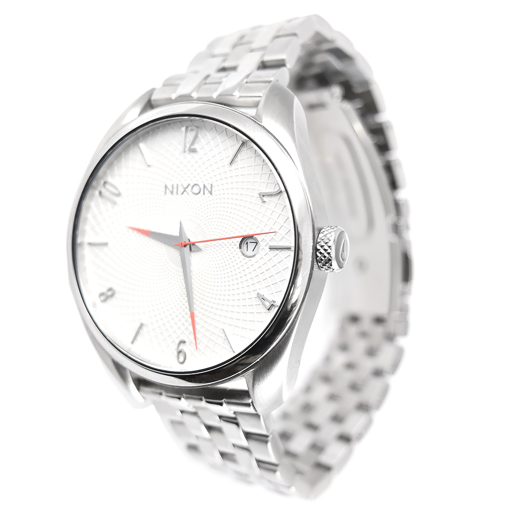 Nixon Women's Bullet A418 100 White Stainless Steel Watch