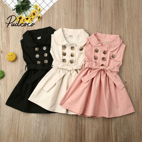 Casual Dress Girls 1-6 Years