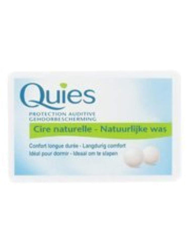 Quies 24 Boules de Protection Auditive à la Cire Naturelle by QuiesÂ