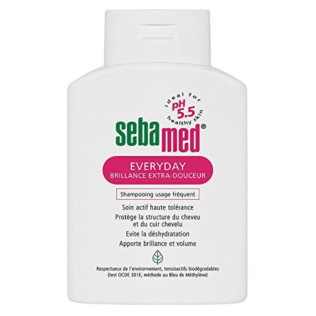 Sebamed Everyday Brillance Extra-Douceur Shampoing Usage Fréquent 200 ml