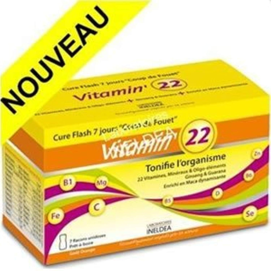 VITAMIN'22 CURE FLASH 7 JOURS