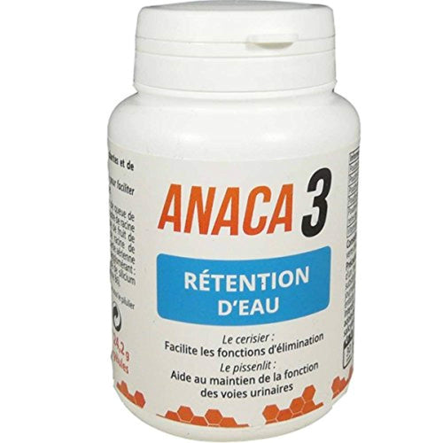Anaca3 Rétention d'Eau 60 Gélules