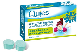 QUIES : Protection auditives natation silicone enfants